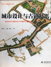 《城市设计与古镇复兴:成都洛带古镇整体设计和建设工程简述》【正版现货,品好如图】