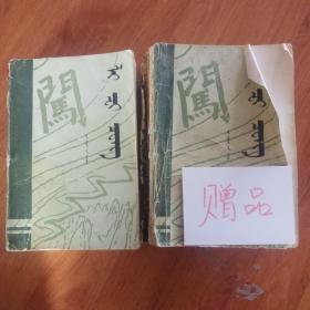 李自成 第一卷上册  蒙文(赠下册)