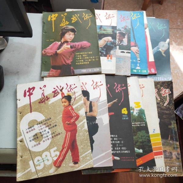 中华武术 1985年全年共12期合售