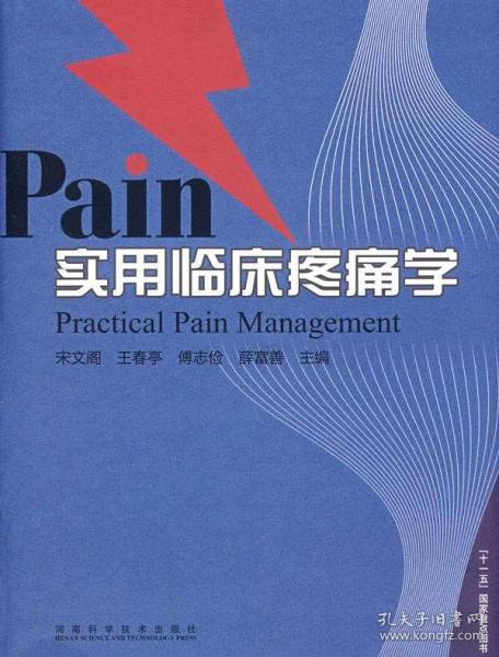 实用临床疼痛学 河南科学技术出版社 宋文阁 等