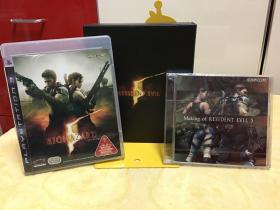 PS3游戏 生化危机5 游戏光盘 正版