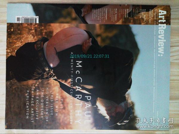 Art Review 藝術評論雜志2010/01-02 外文原版期刊雜志 藝術過期