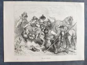 十九世纪 古斯塔夫·多雷 木口木刻 木版画238- 《THE DON DECEIVED》190905