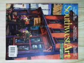 Southwest Art  2015/03 西南藝術美術繪畫收藏原版外文期刊雜志
