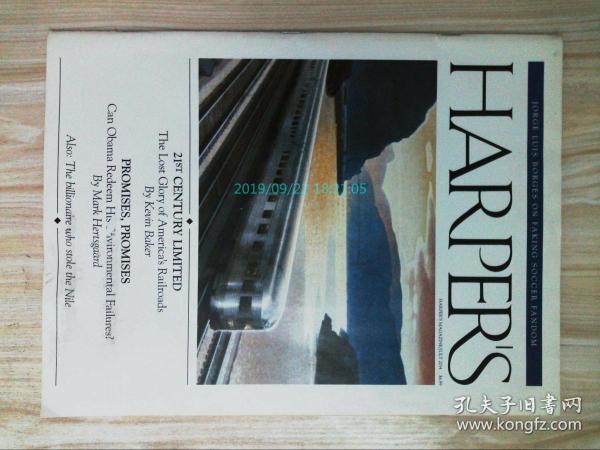 HARPERS MAGAZINE 2014/03-07 美國哈潑斯哈珀斯文學藝術學術
