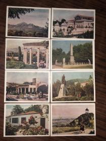 苏联老明信片  15张合售
