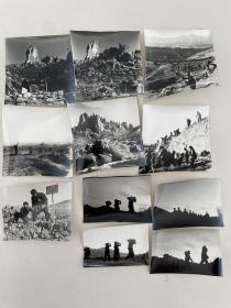 文革老照片:开山凿石(11幅)