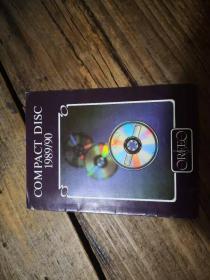 音乐出版目录:《COMPACT DISC 1989/90》