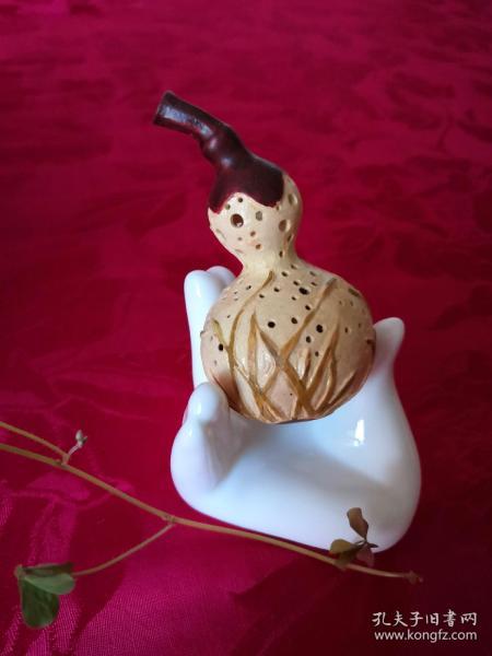 葫芦纯手工雕刻艺术品保真