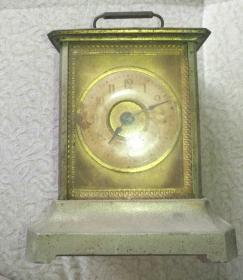 民国表盘镀金座钟