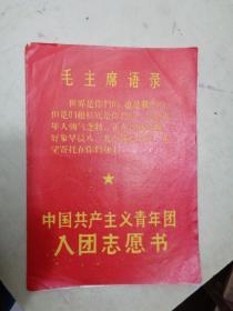 中国共产主义青年团入团志愿书(1973年)