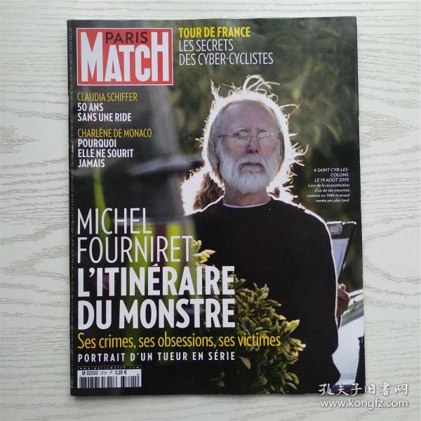PARIS MATCH 2020年巴黎竞赛画报/法文原版(最佳学习法语的阅读资料)(编号25)