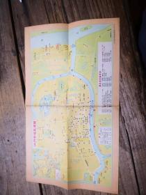 《1978年江门市游览简图》