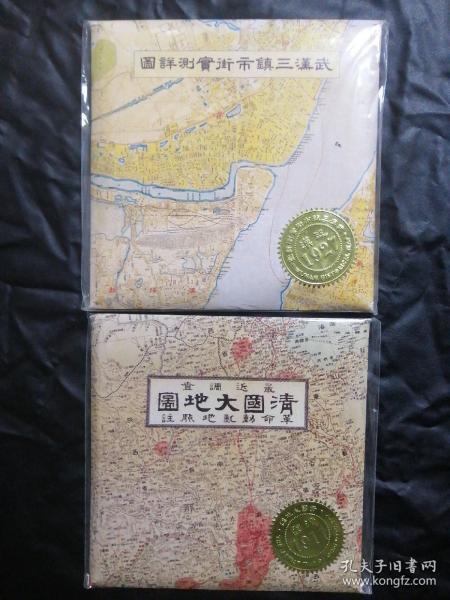 《武汉三镇市街实测详图》+《清国大地图》