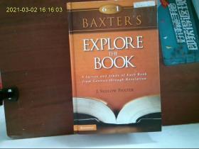 【外文原版】  Baxter's Explore the Book 巴克斯特的探索之书