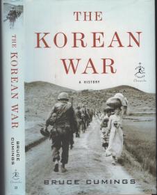 《朝鲜战争-一段历史》精装英文原著  The Korean War-A History by Bruce Cumings 2010年