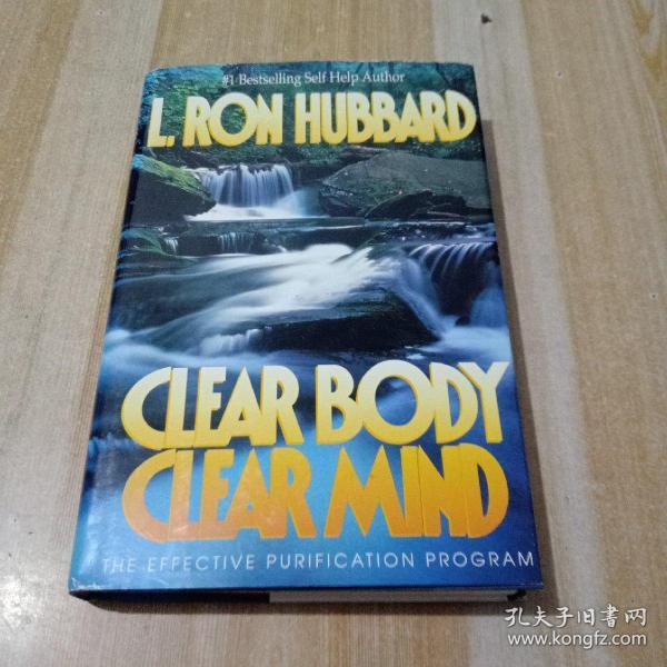 L. RON HUBBARD CLEAR BODY CLEAR MIND
