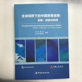 全球视野下的中国普惠金融:实践、经验与挑战
