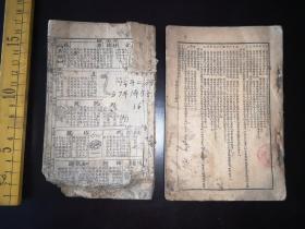 民国《绘图学生新字典》配本  全是图 ,印象枚,十二干支全       前后有缺页  如图
