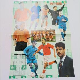 2000年 足球俱乐部(第13期的海报1张)