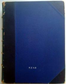 《索菲公爵夫人传》1903年豪华半皮装本限量编号精美插图本4公斤巨册英国历史学家A.W.Ward作传记