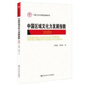 中国区域文化力发展指数(2020)(中国人民大学研究报告系列)