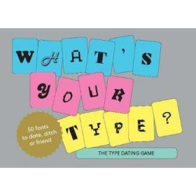 你喜欢哪一类 What's Your Type The Type Dating Game原版畅销书