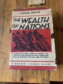 5481:THE WEALTH OF NATIONS  (国富论),有周锡庚教授印章,(《原富》),张五常最欣赏的Lerner写序版,权威现代文库老版书,有藏书章