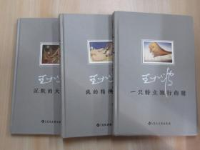 王小波(典藏版):《我的精神家园》《沉默的大多数》《一只特立独行的猪》   共3本合售    硬精装     《沉默的大多数》下开口有磨损