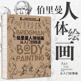 【裸背线装】伯里曼人体绘画从入门到精通 伯里曼人体结构绘画教