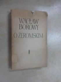外文书   WACTAW BOROWY  OZEROMSKIM     毛边书  共331页
