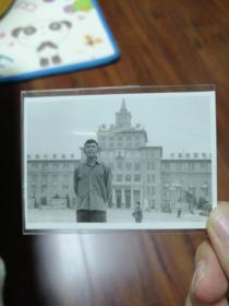 文革期间中国人民革命军事博物馆老照片【有毛主席像,林彪语录,时代特色浓郁】