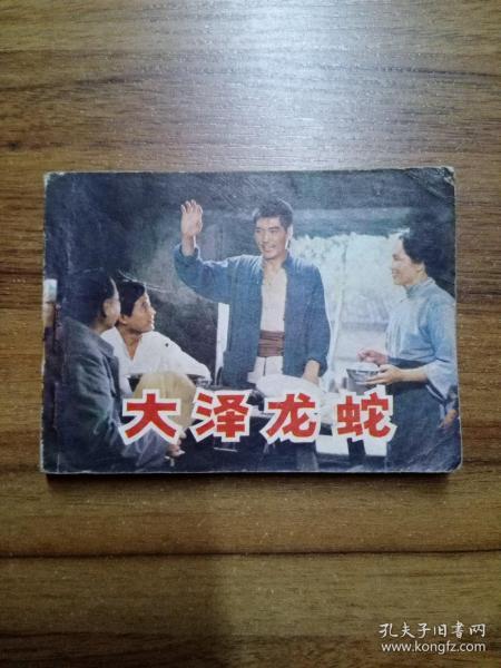 电影连环画册:大泽龙蛇 【1984年1版1印 】