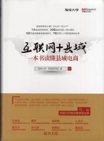 精装本(带护封):《互联网+县域:一本书读懂县域电商》【未拆封、正版现货,品好如图】