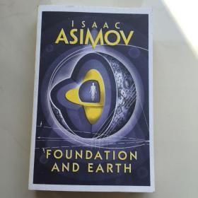 阿西莫夫基地系列:基地与地球 英文原版 Foundation and Earth 科幻小说-