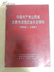 中国共产党山西省太原市河西区组织史资料1958-1987