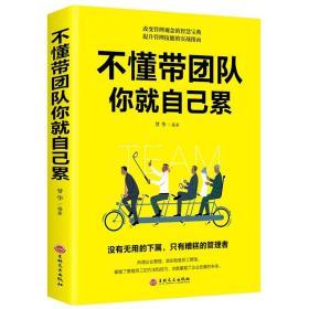 不懂带团队你就自己累 企业管理学书籍畅销书领导力销售管理类管理方面的书籍打造强悍的狼性团队企业管理畅销书
