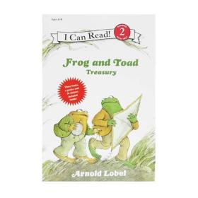 青蛙与蟾蜍3个故事合集 I Can Read Frog and Toad Treasury 英文