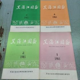 黑龙江园艺1985-1-4册