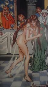 【特价】1934年A Book Of Old Ballads《绘本古歌谣集》 著名插画家H. M. Brock插图初版本 大量精美彩色插图 开本超大