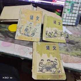 山东省小学试用课本  语文( 第 1、5、 9、10、8册)