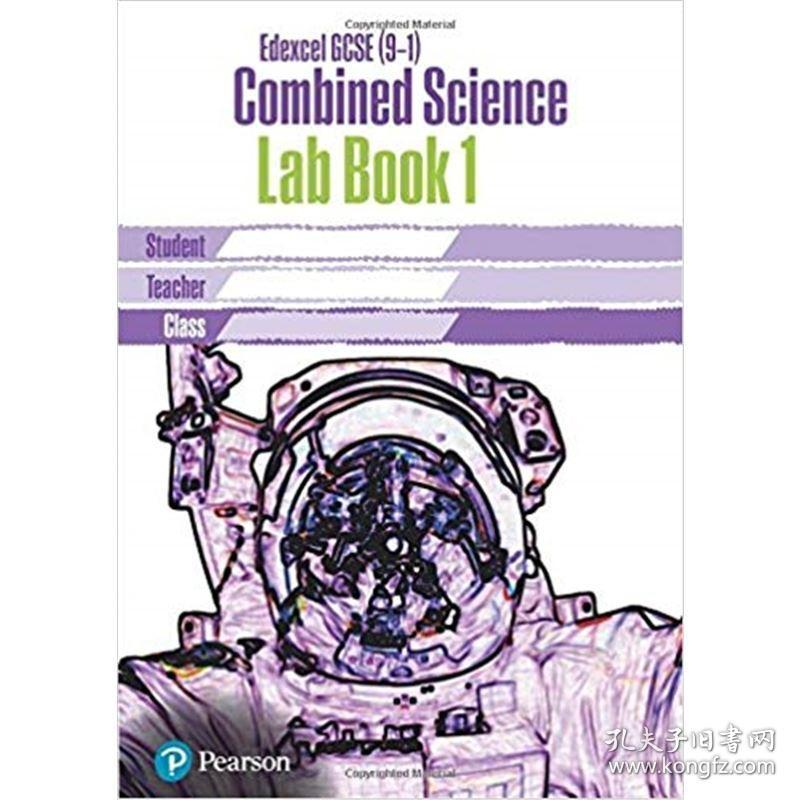 EDEXCEL GCSE (9-1) COMBINED SCI CORE PRACTICAL LAB BK 1 (201