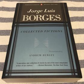 Jorge Luis Borges Collected Fictions 博尔赫斯小说集 企鹅版 毛边本