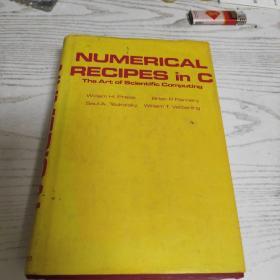 原版精装 Numerical Recipes in C: The Art of Scientific Computing