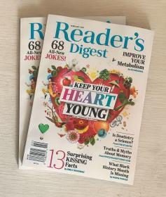 READER'S DIGEST 美国版读者文摘2021年2月英文生活类杂志