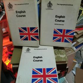 (The Linguaphone Institute)English Course【灵格风英语教程,英文原版,精装本+护封】  三册合售 精装本