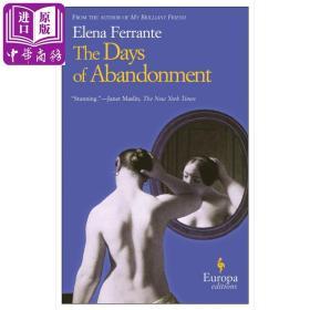 The Days of Abandonment 英文原版 埃莱娜·费兰特:被抛弃的日子【原版】费伯影视