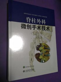脊柱外科微创手术技术—BMA2018医学图书奖获奖图书【正版全新未开封】