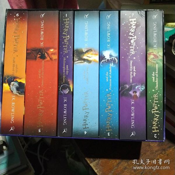 Harry Potter Box Set: The Complete  Collection(1一7册)