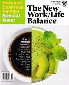Harvard Business Review 哈佛商业评论英文版特刊 2020年 冬季刊